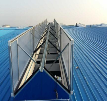 电动采光排烟天窗订做安装维修